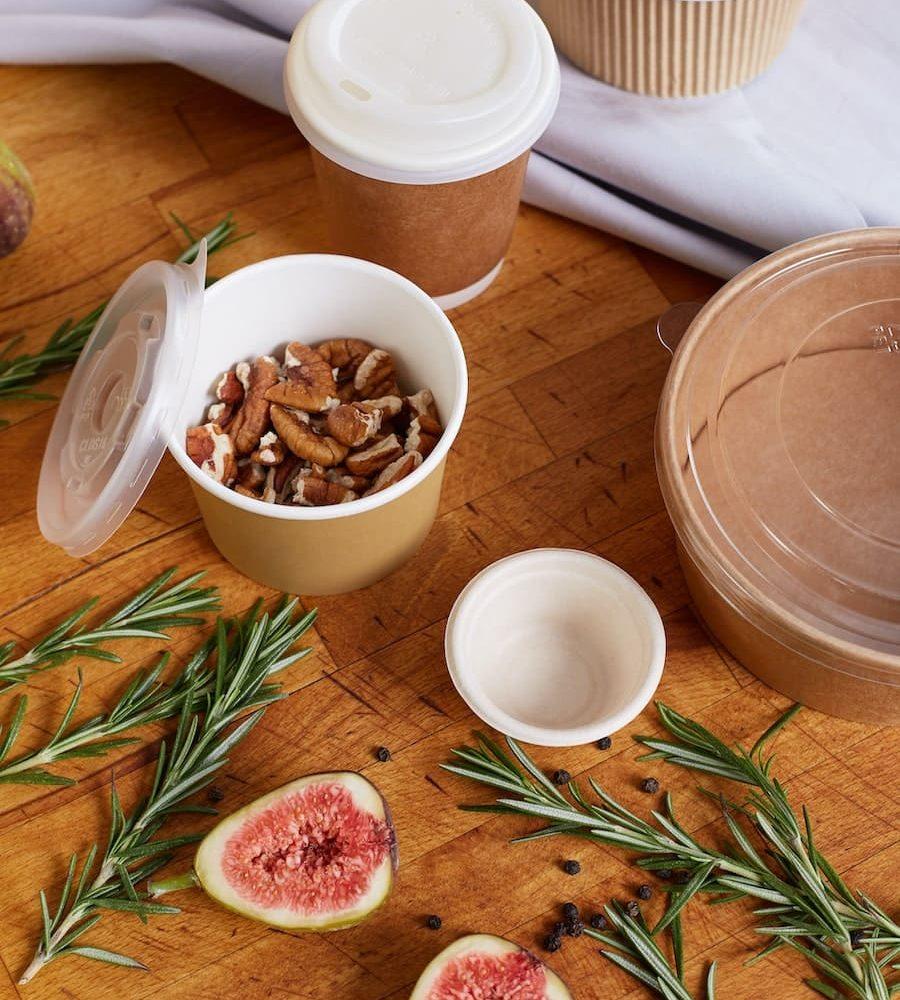 Opakowania biodegradowalne dla gastronomii
