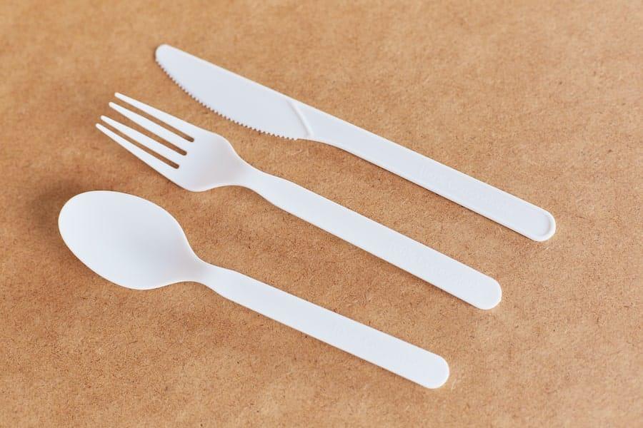 Ekologiczne noże z mączki kukurydzianej - 170mm - 50 szt.