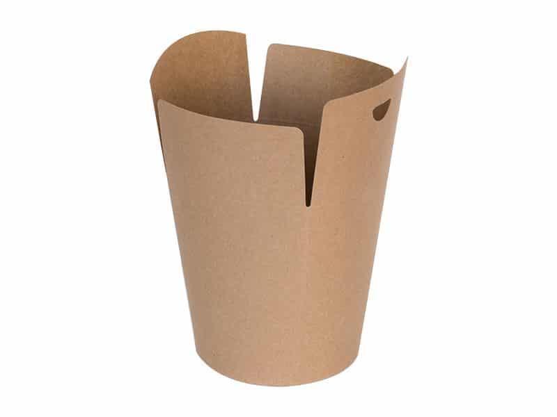 Ekologiczny Kebab Box KRAFT M <br> 105x146,5 - 50 szt.