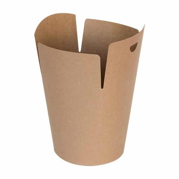 Biodegradowalny Kebab Box KRAFT L - 135x152 - 50 szt.